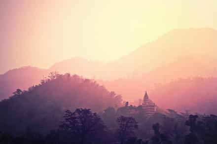 Tempel in Rishikesh India